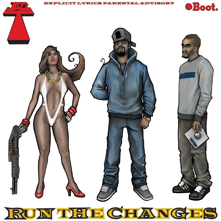 """Jazz T """"Run the Changes"""" dropping November 2015"""