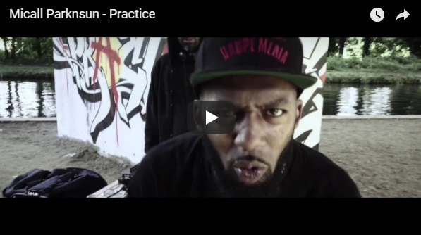 "Micall Parknsun – Practice video…limited edition 12"" Bandcamp Presale up now!"