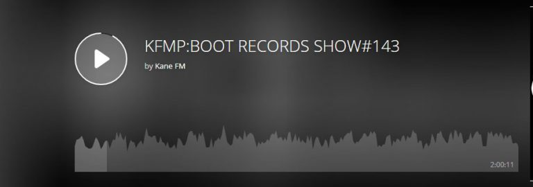 KFMP:BOOT RECORDS SHOW#143