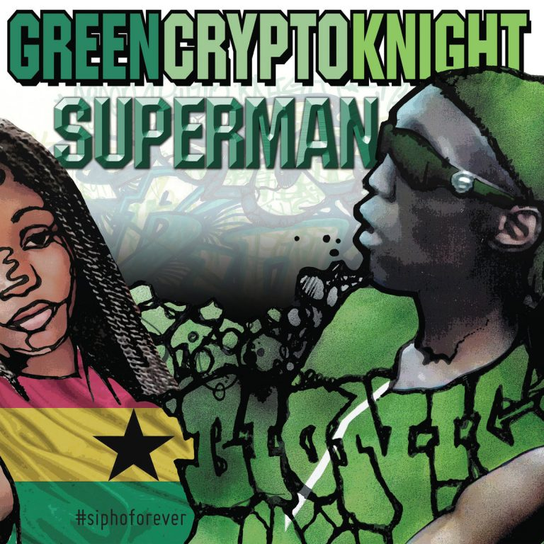GreenCryptoKnight – Superman Bandcamp presale live now…