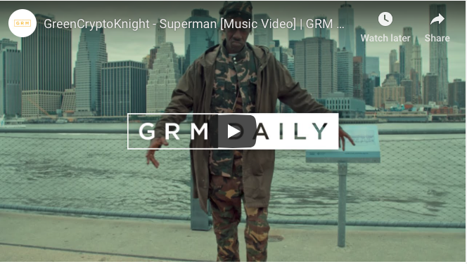"New Bionic video ""GreenCryptoKnight – Superman"" has dropped"